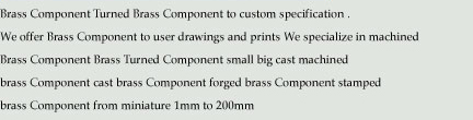 Brass Components indiabrasscomponents